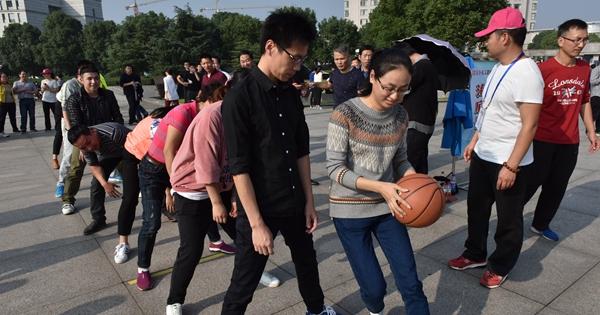 金东举行机关趣味运动会