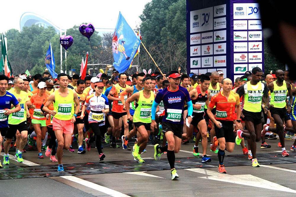 2016台州国际马拉松比赛精彩回顾