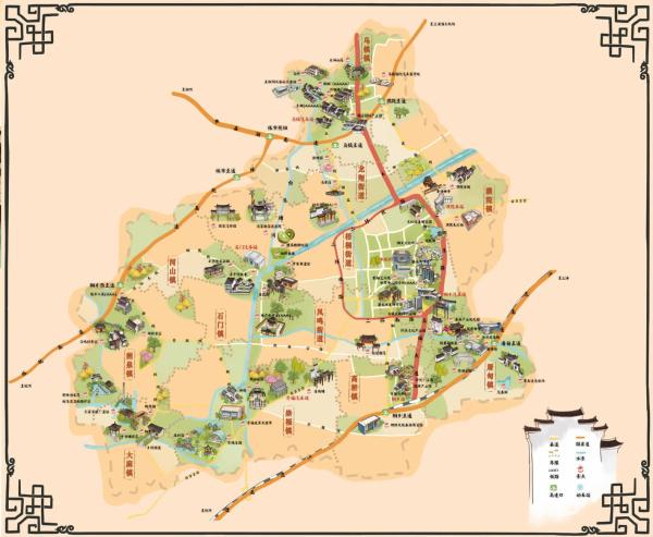桐乡首份全域旅游手绘地图免费领