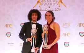 亚足联2016年度颁奖典礼举行