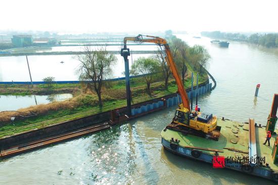 德清:千吨巨轮可畅行大运河