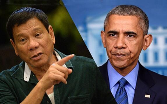 杜特尔特自曝:有多厌恶奥巴马?