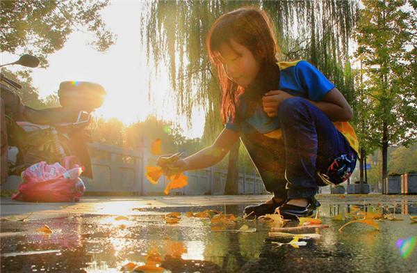 衢州初冬的颜色如此美丽