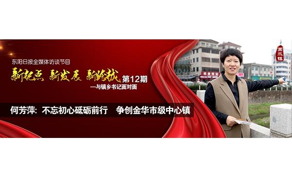 【专题】何芳萍:不忘初心砥砺前行 争创金华市级中心镇
