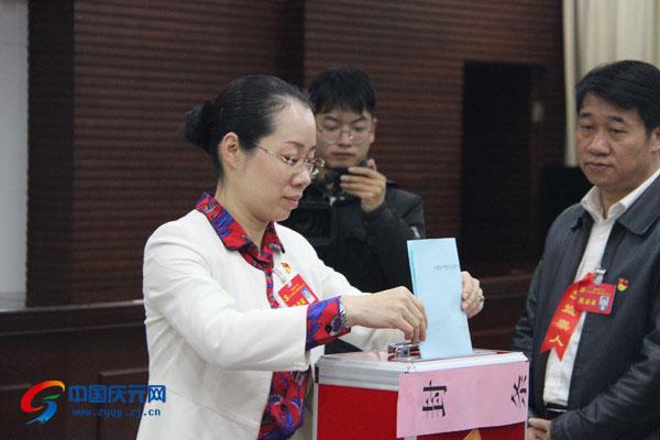 中共庆元县第十四届委员会举行第一次全会