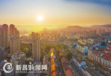 新昌城乡面貌日新月异