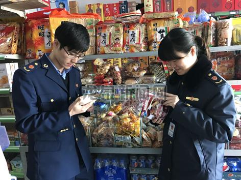 市市监局开展食品安全检查工作