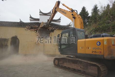 因崇仁寺景区整体规划需要对经果寺进行拆除