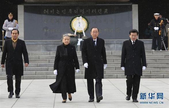 潘基文是否竞选韩国总统欲说还休
