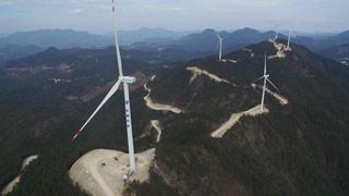 双苗尖风力发电项目3月份全部投用