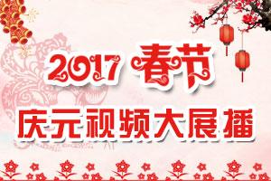 2017年春节庆元视频大展播