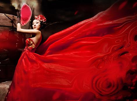 新年红怎么穿才不俗套?
