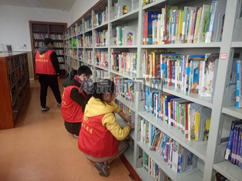 图书馆小管理员志愿者体验活动