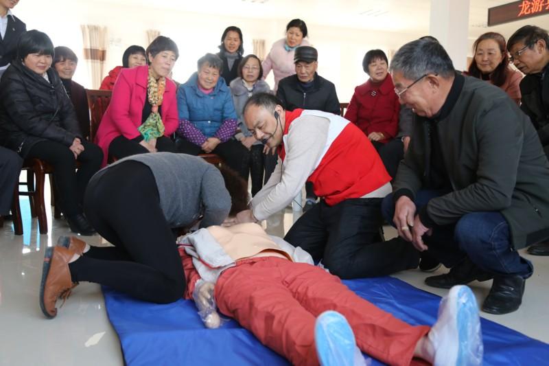 县红十字会开展培训