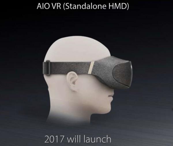 华硕一体式VR头显设备曝光