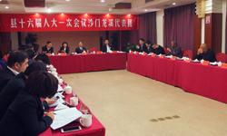 沙门龙溪代表团热烈审议报告