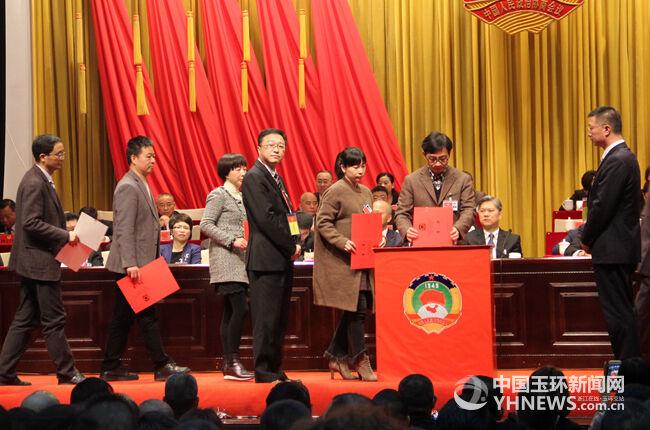 萧诗跃,陈明迪,陈茂荣,吴玲芝,陈亨标,陈伟鹰等6位同志当选为政协