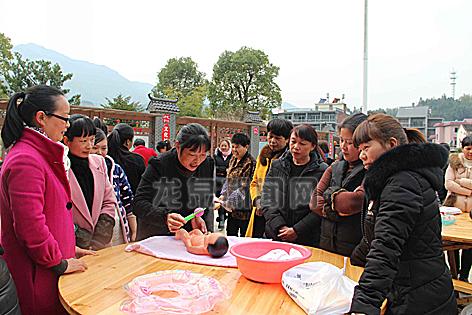 锦溪镇举办为期8天的育婴师免费培训班