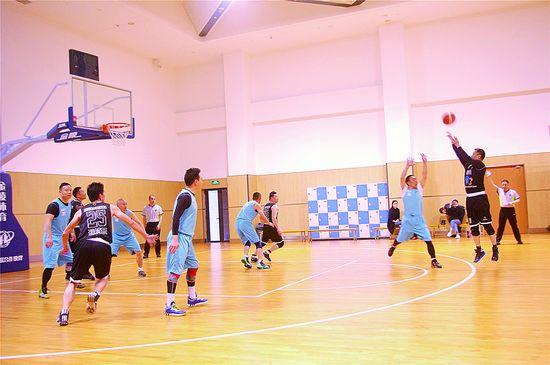 区首届中老年篮球友谊赛落幕