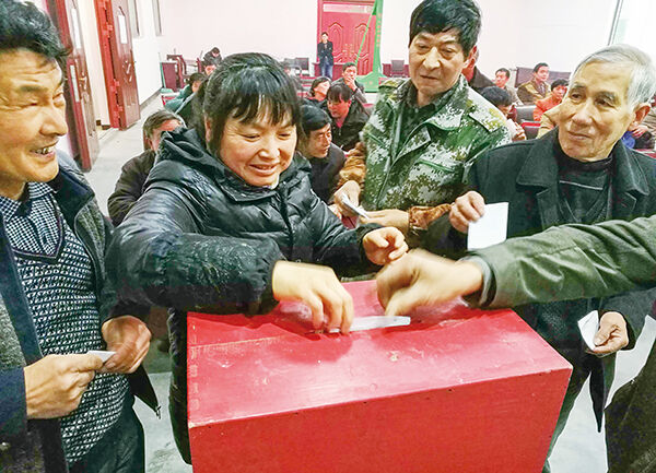 村和社区换届进入选举阶段