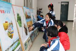 龙溪小学:小手拉大手 共同节水护水