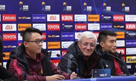 世预赛:中国队举行赛前新闻发布会