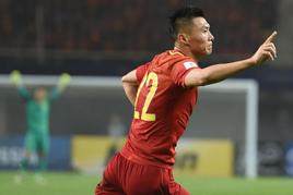 世预赛:中国队1-0战胜韩国队