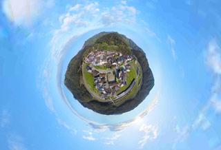 启用无人机拍摄 360度全景还原大泽村美景