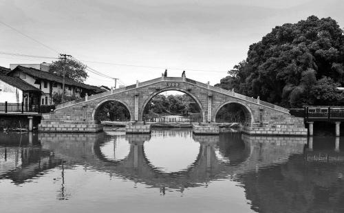 古镇流淌运河记忆