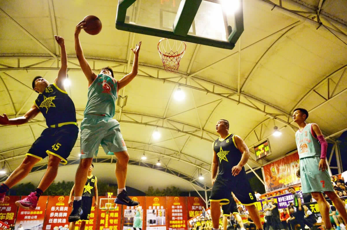 夏季篮球联赛启幕