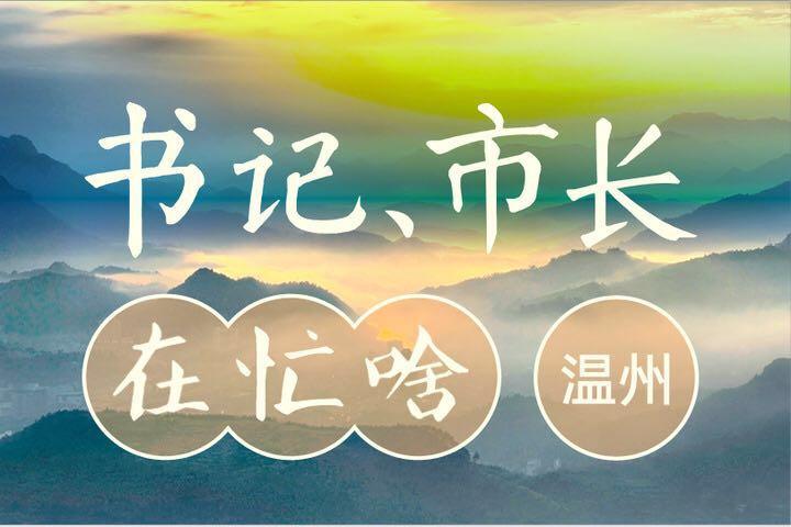 """杭宁温相遇 浙江""""铁三角""""有了一次不寻常对话"""