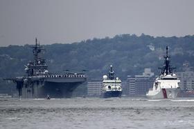 纽约举行舰队周