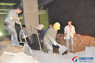 凯震大酒店项目建设有序推进