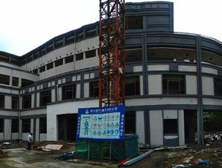 县老年活动中心进入装饰装修阶段