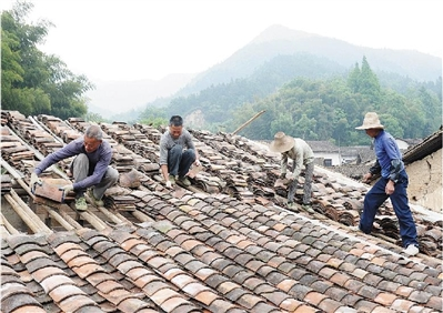 修缮古瓷村