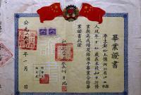 65年前的毕业证书,90%的江山人都没见过!