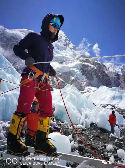 柔弱中的刚强 温州首位登顶珠峰的女选手陈琼回乡