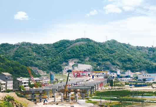 台州沿海高速基本实现了无障碍施工