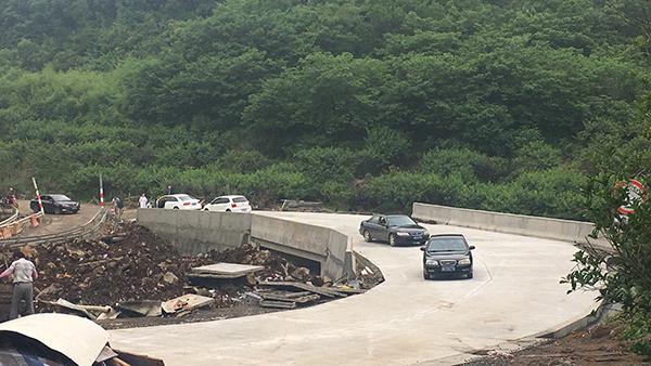 投资273万 逵溪桥重建通车