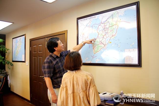 一把手访谈丨王庆飞:做好交通全局规划 加快美丽公路建设
