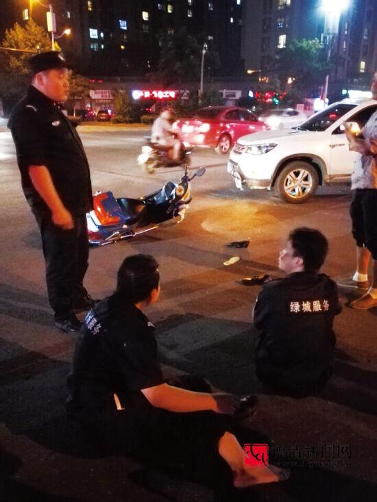 武康城东交通事故频发