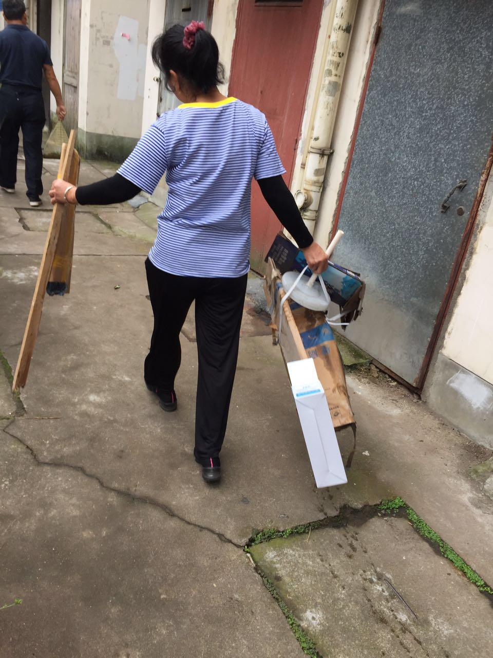 相公殿社区义务清扫活动