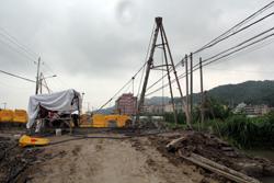 芦浦:新城连接线(井分线)施工有序推进