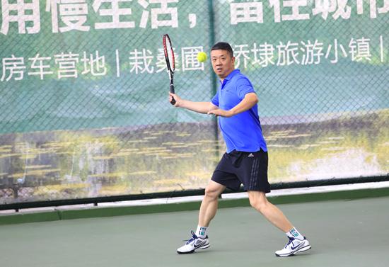 2017浙江省新闻界网球赛
