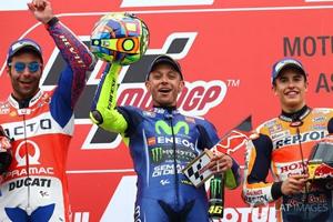MotoGP荷兰站:罗西夺冠 维纳莱斯退赛