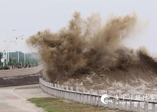 不得了!1955年以来第二高洪峰对撞天文大潮!