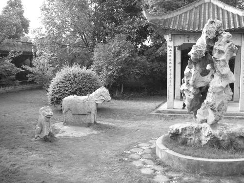 七星池与梅花石