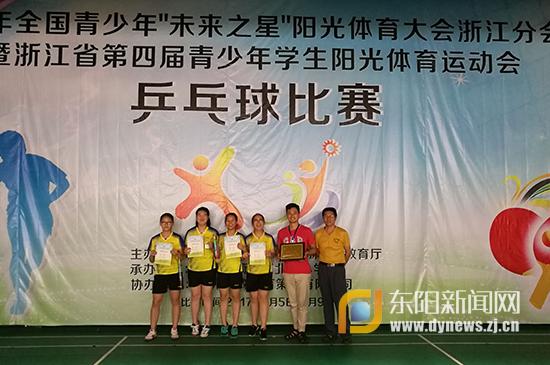 东阳吴宁三中v健美健美乒乓女队获省体育运动口袋妖怪液集团图片