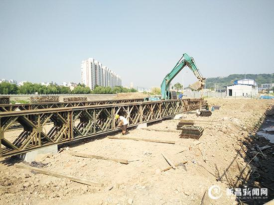 天姥大桥建设加快推进