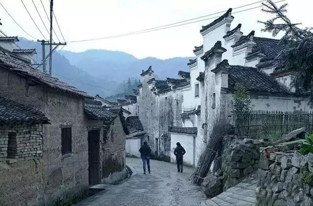 隐匿于山林竹海间的古村